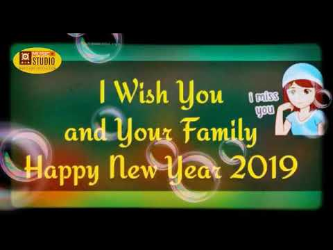 New Santali Song Happy New Year 2019 (status ) Female Version