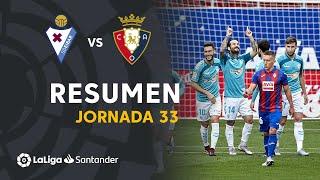 Resumen de SD Eibar vs CA Osasuna (0-2)