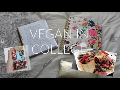 What I Eat in a Day as a VEGAN COLLEGE STUDENT #2