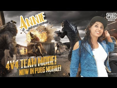 🔴PUBG MOBILE WITH ANNIE   NEW UPDATE IS HERE 0.13.0 4 VS 4 TDM    SUBSCRIBE & JOIN ME