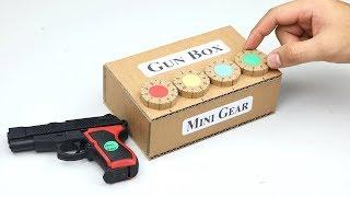 How to Make Amazing Storage Safe Box Toy Gun