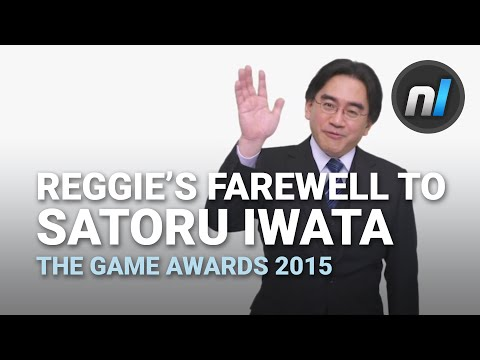 Reggie Fils-Aime's Farewell to the Late Satoru Iwata | The Game Awards 2015