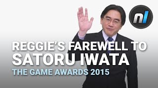 reggie fils aime s farewell to the late satoru iwata   the game awards 2015