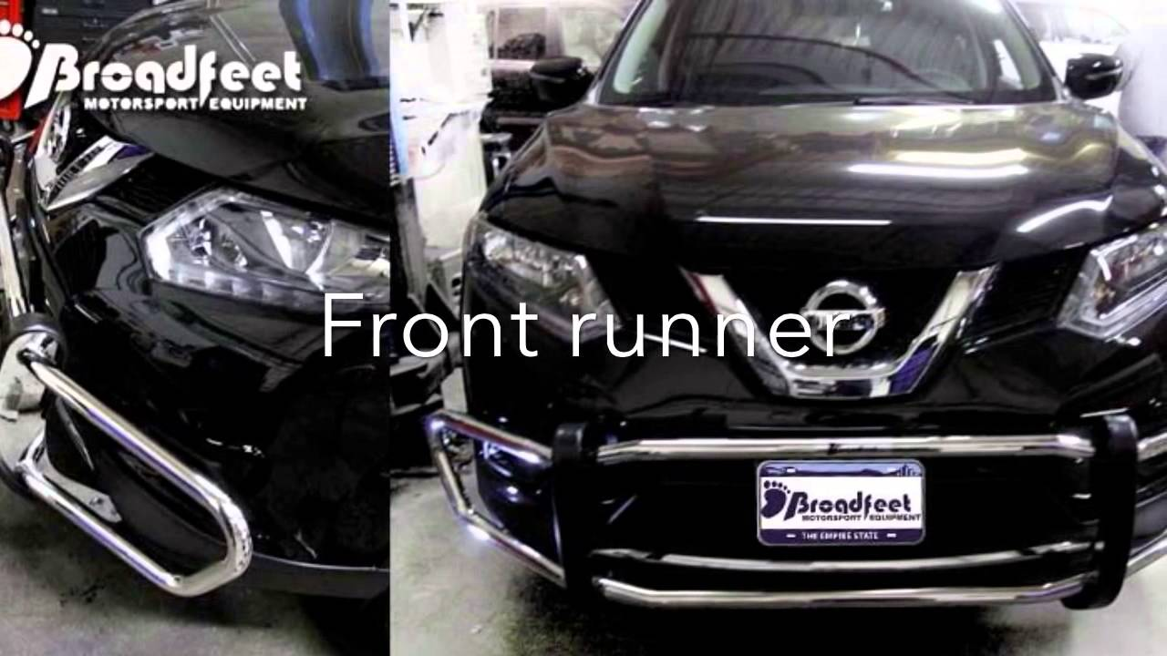 2014 Nissan Rogue On Broadfeet Motorsport Bumper Guard