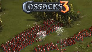 Cossacks 3 Gameplay - Russia Gameplay 1vs1 Hard AI