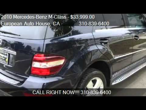 2010 mercedes benz m class ml350 for sale in los angeles for 2010 mercedes benz m class for sale