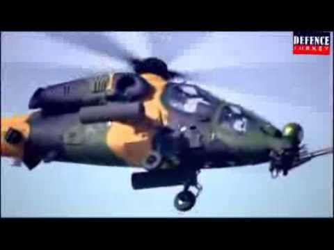 "T129 ""ATAK"" Flight Demonstration-Bahrain Air Show 2014"