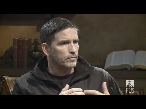 with Jim Caviezel and Eric Groth for Paul, Apostle of Christ