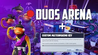 🔴DUOS ARENA (ft. Katsa) + CUSTOMS / FORTNITE BATTLE ROYALE (Use Code : iz-grypas)
