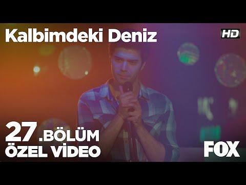 Mustafa, karaoke performansı ile Volkan'a cevap veriyor! Kalbimdeki Deniz 27. Bölüm