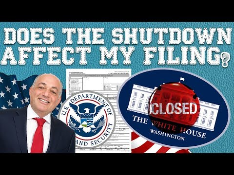 Immigration Advice: Is USCIS Affected By the Government Shutdown? (2019)