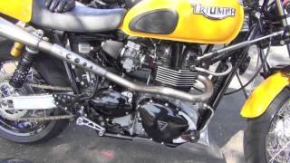 Triumph Thruxton Zard Exhaust