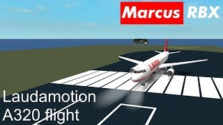 Laudamotion Airbus A320 flight to Bratislava | ROBLOX