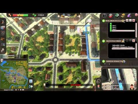 Let's Play: Cities in Motion - #01.1 - Berliner Fundamente (schwer) - [Deutsch / HD]