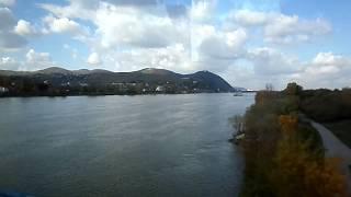Подъезжаем к столице АВСТРИИ -   Вене ,река Дунай!