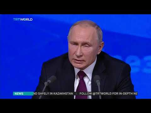 Putin discusses US troop withdrawal from Syria