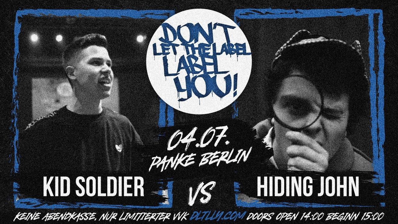 Kid Soldier vs Hiding John // DLTLLY RapBattle (Panke // Berlin) // 2020