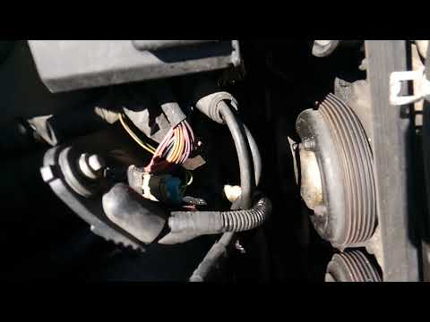 2001 Oldsmobile  intrigue 3.5l water pump removal