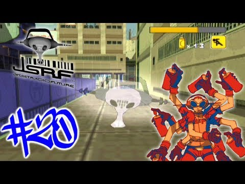 Jet Set Radio Future - Part 20: Graffiti Holes