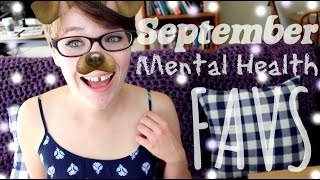September Mental Health Favorites (Support Group, CheerBox, + MORE)