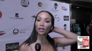 Atheana Ritchie talks about her upcoming projects at the World Premiere Of Better Criminal at the TC