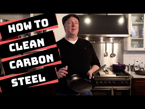 How to Clean Carbon Steel Pans & Skillets
