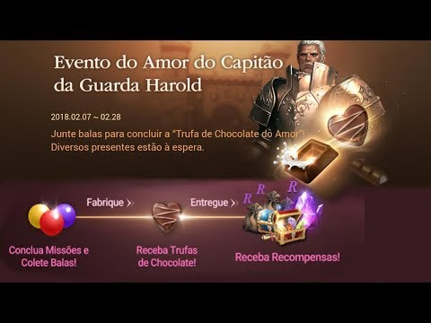 Lineage 2 Revolution: Evento Dia dos Namorados! Pegue seus Presentes!!! Omega Play