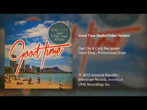 Owl City \u0026 Carly Rae Jepsen - Good Time (Radio/Video Version) indir