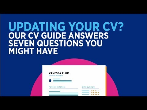 Updating Your CV? Introducing Our Interactive CV Guide