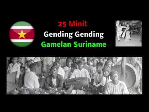25 Minit Gending Gending Gamelan Suriname