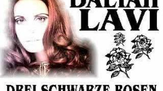 Daliah Lavi - Drei Schwarze Rosen ( Black Paper Roses )