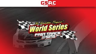 iRacing : Late Model eSports - FAST TRACK SIMS WORLD SERIES - New Smyrna Speedway