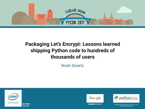 Image from Packaging Let's Encrypt: Lessons learned shipping Python code to hundreds of thousands of users