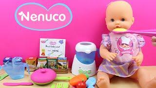 Nenuco Chef de Bebés   Juguetes de la Muñeca bebé Nenuco   Comiditas de juguete para bebés thumbnail