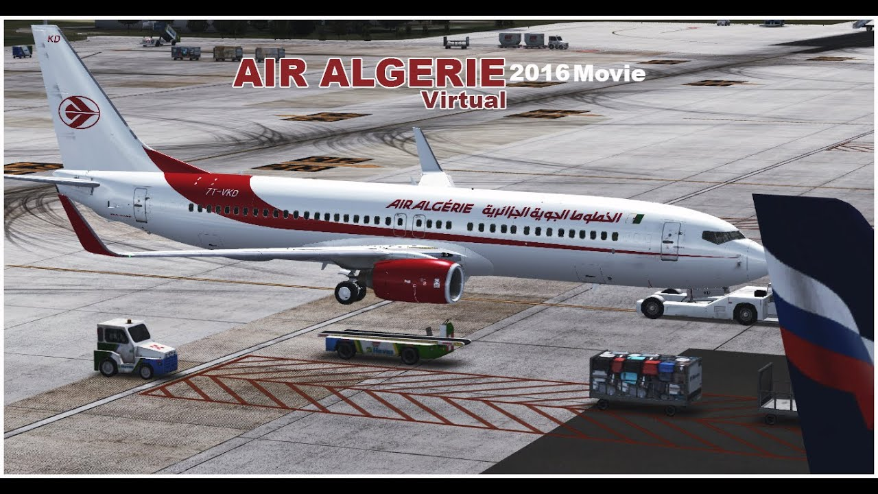 AIR FSX TÉLÉCHARGER 737 600 ALGERIE
