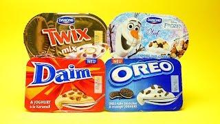 Danone Twix Mix Daim Karamell OREO and Frozen Desserts