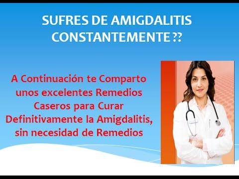 Remedios caseros para curar la amigdalitis en casa youtube - Como tratar la bulimia en casa ...