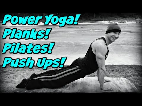 "Day 1: The ""4 P's"" - Power Yoga, Planks, Pilates & Push Ups Challenge - Sean Vigue Fitness thumbnail"