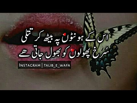 Best Urdu Romantic Poetry | Sms Poetry | Two Line Poetry | Mohabbat Poetry | Sad Poetry