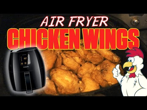 How to cook fried chicken wings in air fryer