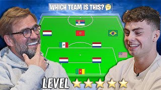 Which Team Is This? vs Jurgen Klopp (Football Quiz) - LEVEL: ⭐⭐⭐⭐⭐