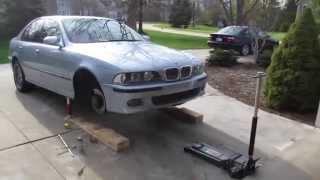 BMW E39 M5 Wheel Bearing Replacement DIY