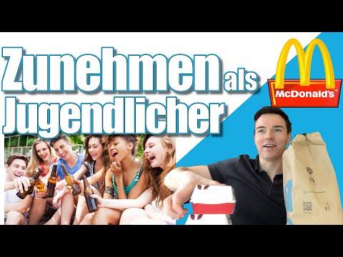 ZUNEHMEN als JUGENDLICHER + McDonalds Challenge