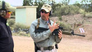 Clearing a Double Feed in an AR-15 - Gunsite Academy Firearms Training