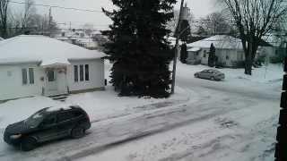 Canada vague de froid extrême 2014
