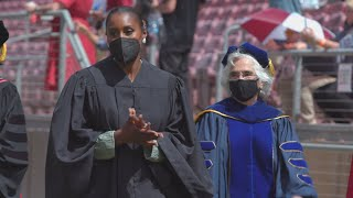 Stanford 2021 Undergraduate Commencement Highlights: Issa Rae '07