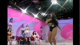 EDNA SILVA (Eva Brown) DANÇA DA GARRAFA - Gugu 1995