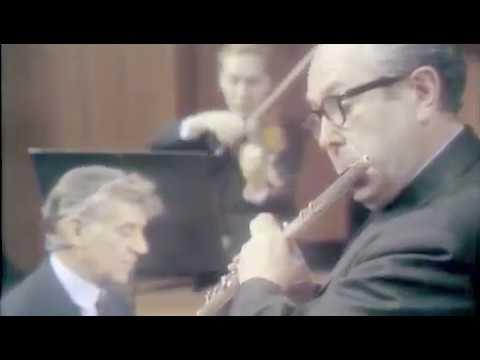 J.S. Bach Brandenburg Concerto No. 5  Nadien, Baker, Bernstein and NY Philharmonic