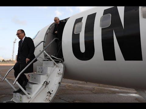 Under-Secretary-General for Political Affairs Jeffrey Feltman in Libya