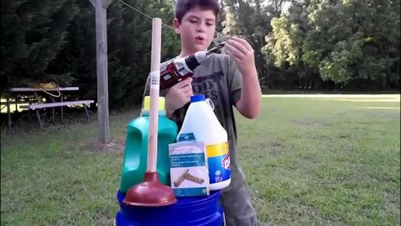 how to make a homemade washing machine youtube. Black Bedroom Furniture Sets. Home Design Ideas